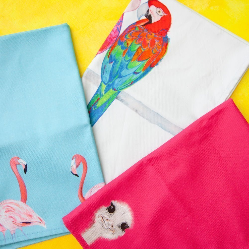 3 Tew Towels from the Emily Smith Tea Towel Range