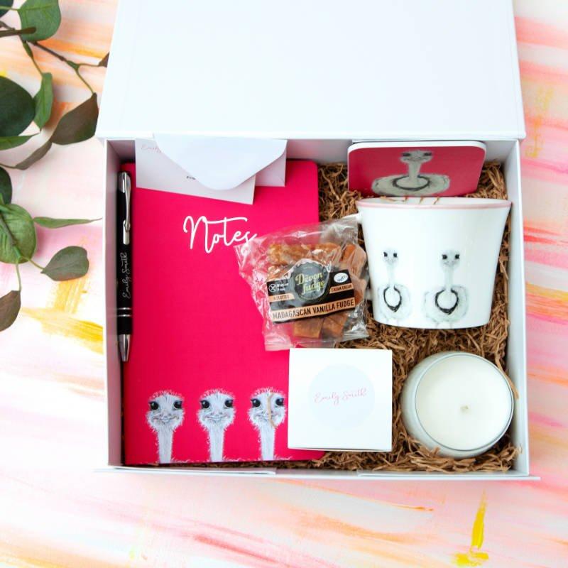 Camilla Ostrich Gift Box