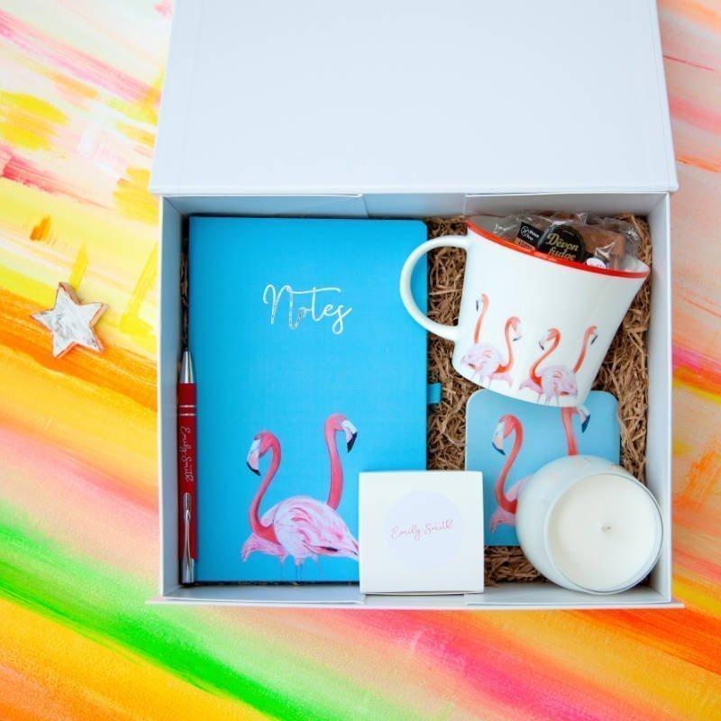 Flossy & Amber Flamingo Gift Box