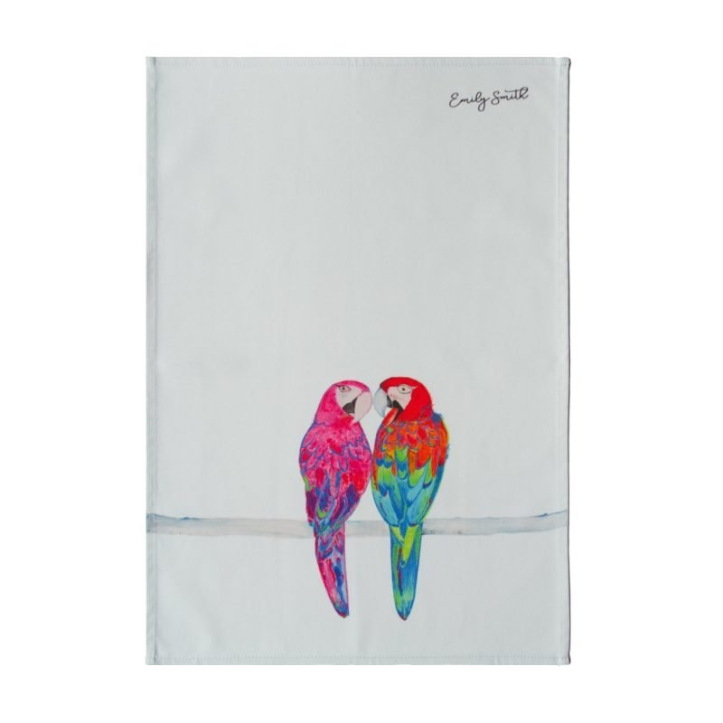 Percy and Penelope Tea Towel
